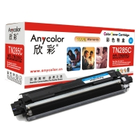欣彩(Anycolor)AR-TN285C 蓝色硒鼓/墨粉盒 兄弟TN-285C 适用于Brother MFC-3140 3150CDN 3170CDW 9020CDN 9340cdw 约2200页