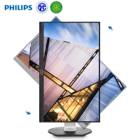 飞利浦(Philips)272P7VPTKEB液晶显示器27寸VGA/HDMI/DP*2/USB3.0*3接口分辨率3840×2160